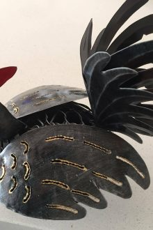 Rooster Mosquito Coil Holder