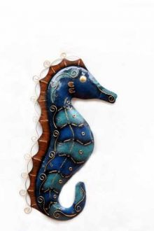 Blue Spiky Seahorse